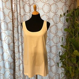 🔥 Old Navy Fitted White Tank Top Size XL Tall NWT
